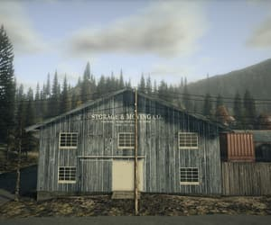 blue, alan wake, and building image