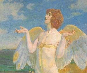 angel, god, and celtic image