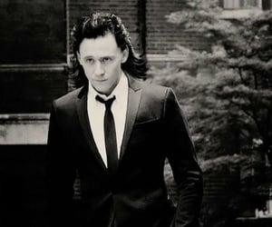 black&white, style, and tom hiddleston image
