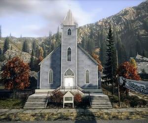 autumn, chapel, and washington image