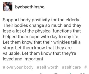 body positive, fat positive, and aging image
