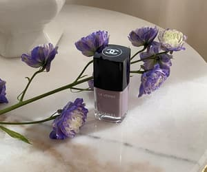 beauty, chanel, and flowers image