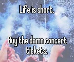 concert, quotes, and teens image