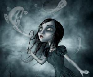 bubbles, dark, and fantasy image
