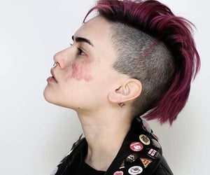 aesthetic, alternative, and short hair image