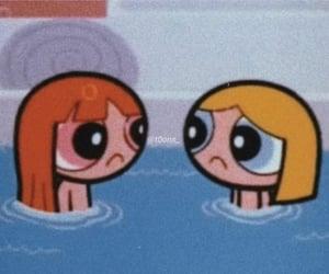 cartoon, ppg, and powerpuff girls image