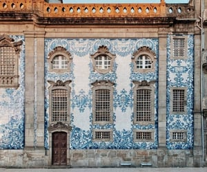 architecture, blue, and portugal image