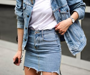 denim, outfit, and style image