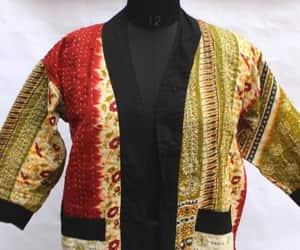 women's clothing, women fashion, and cotton jacket image