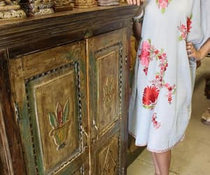 cabinet, old door cabinet, and carved wood image