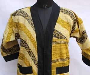 quilted jacket, women's clothing, and reversible coat image