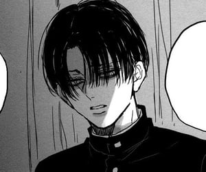 manga, anime, and levi image