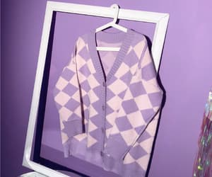 cage, lilac, and cardigan image
