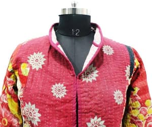 quilted jacket, reversible coat, and women fashion image