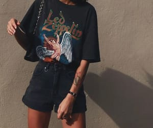 accessories, summer style, and denim shorts image