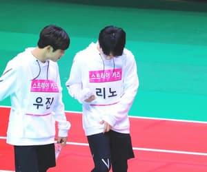 Minho, woojin, and lee know image