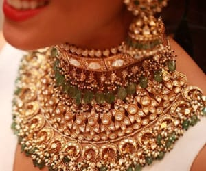 jewellery, necklace, and bridal jewellery image