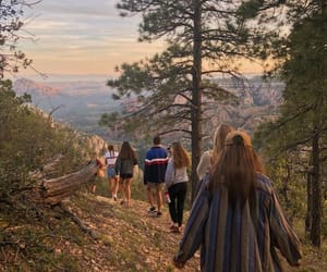 adventure, hike, and nature image