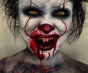 clown, horror, and cosplay image