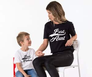 etsy, aunt tshirt, and matching shirts image