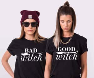 bad witch, etsy, and bff shirts image