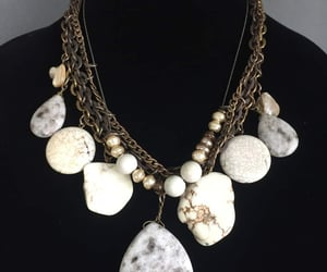etsy, mimisjewelryboutique, and stone necklace image