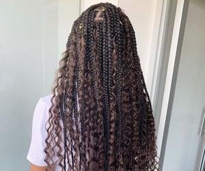 beautiful, braids, and twists image