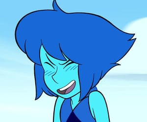 aesthetic, steven universe, and blue image