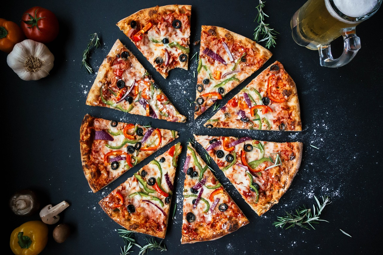 article, pizza, and pizzeria image