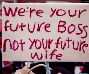 boss, female, and feminism image