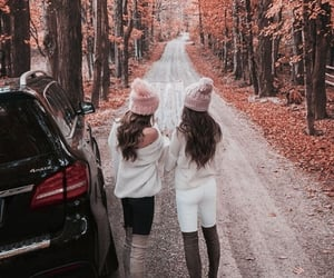 autumn, frinds, and fall image