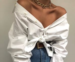 blouse, jeans, and clothes image