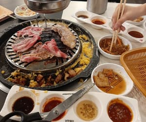 food, korean, and meat image