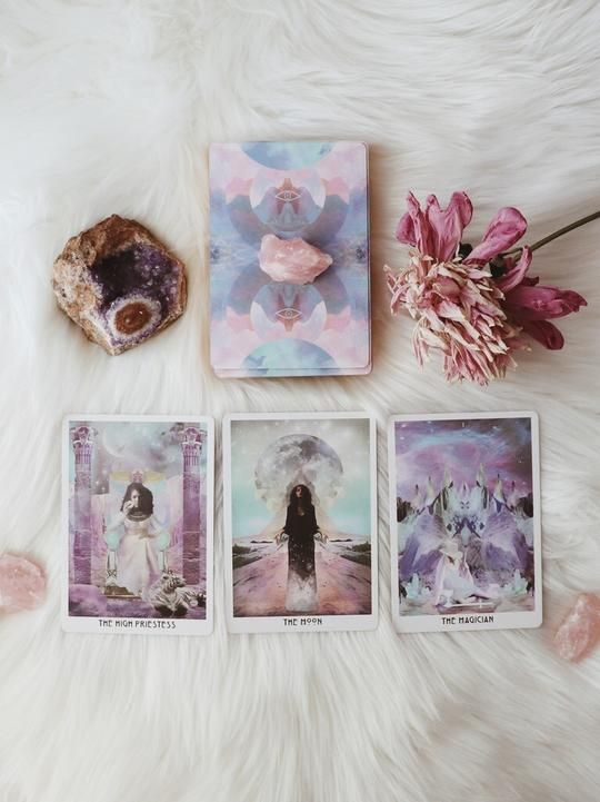 autumn, feelings, and tarot image