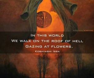 deep, writings, and flowers image