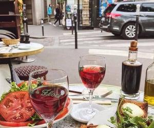 beauty, parisian, and cafe de flore image