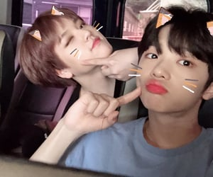 x1, dongpyo, and son dongpyo image
