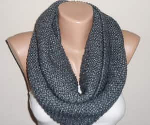 etsy, chunky scarf, and handmade scarf image