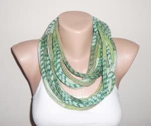 christmas, infinity scarf, and adult scarf image