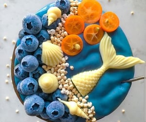 blue, blueberry, and bowl image