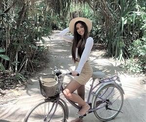 adventure, beach, and bike image
