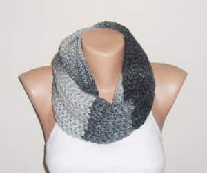 etsy, chunky scarf, and warm scarf image