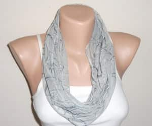 etsy, summer scarf, and loop scarf image