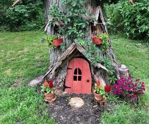 backyard, summer, and fairy ideas image