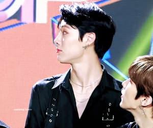 gif, x1, and han seungwoo image