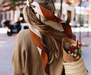 basket, city, and girl image