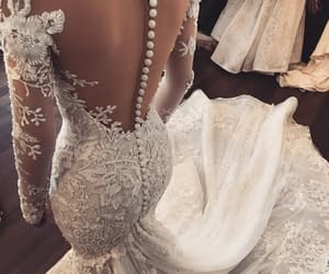 bride, goal, and lace image