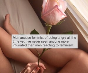 <3, feminist, and woman image