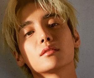 blonde, korean, and rapper image