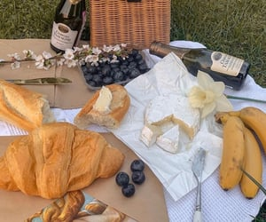 picnic, food, and cheese image